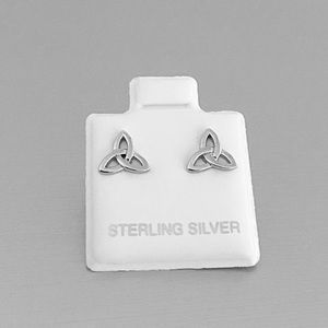 🎆NEW🎆 Sterling Silver Celtic Triquetra Earrings